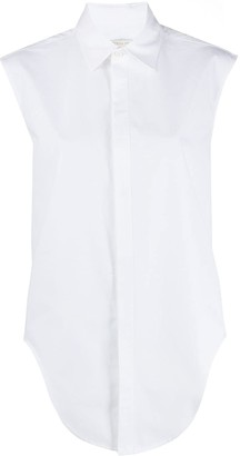 Bottega Veneta sleeveless cotton shirt
