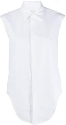 Bottega Veneta Sleeveless Cotton Shirt