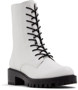 Who What Wear Lexi Lace-Up Boot