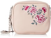 New Look Womens Embroidered Cross-Body Bag