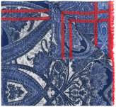 Etro printed scarf - men - Silk/Cotton/Wool - One Size