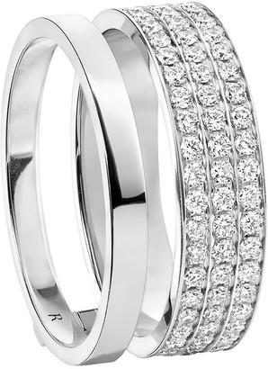 Repossi 18kt white gold Berbere Module diamond ring
