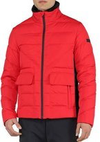 Fendi Basic Nylon Puffer Jacket, Red