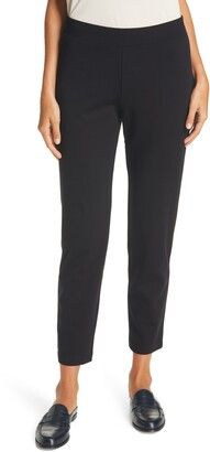Eileen Fisher Flex Ponte Knit Ankle Pants
