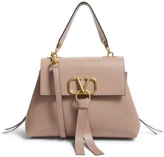 Valentino Garavani Small Leather VRING Shoulder Bag