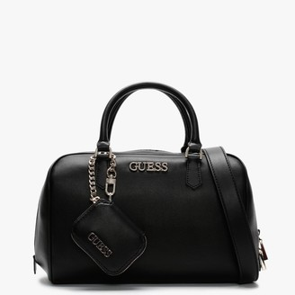 GUESS Calista Black Box Satchel Bag