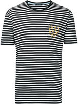 GUILD PRIME striped T-shirt - men - Cotton - 2