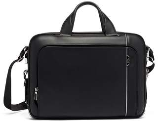 Tumi Arrive Leather Sadler Briefcase