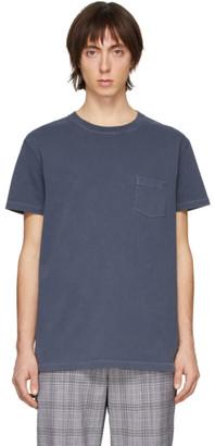Schnaydermans Indigo Garment-Dyed Jersey T-Shirt