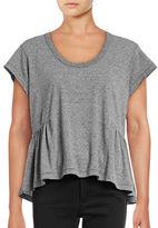 Current Elliott Girlie Ruffle T-Shirt