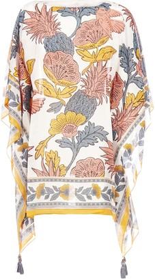 Tory Burch Floral Printed Beach Tunic