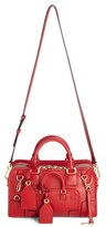 Loewe 'Amazona 28 Multiplication' Leather Satchel - Red