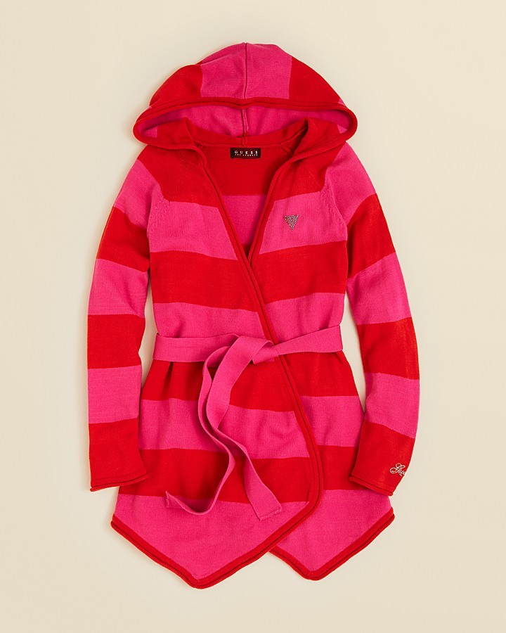 GUESS Girls' Hooded Cardigan - Sizes S-XL