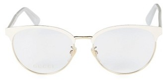 Gucci 58MM Cat Eye Optical Glasses