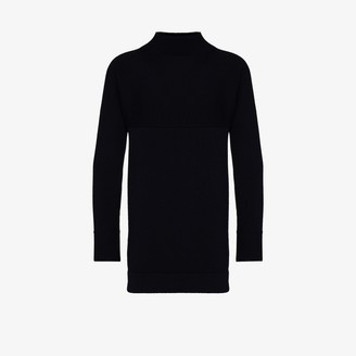 Maison Margiela Mock Neck Wool Sweater
