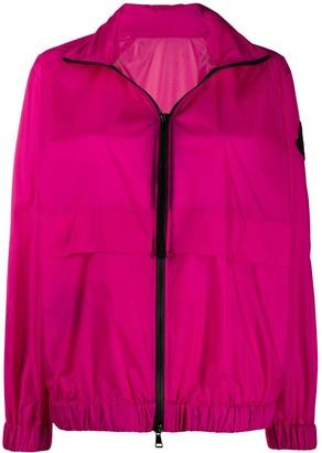 Moncler Logo Patch Lightweight Jacket