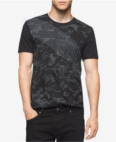 Calvin Klein Men's Marble-Print T-Shirt