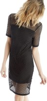 Sole Society Mesh T-Shirt Dress
