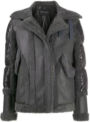 Cara Mila Jo padded-panel jacket