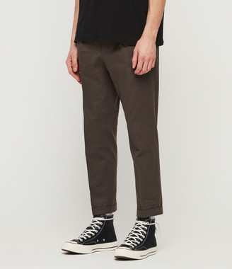 AllSaints Tallis Cropped Slim Trousers