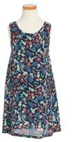 Roxy Girl's Everyone On A Run Print Dress