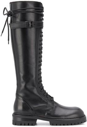 Ann Demeulemeester Knee-Length Chunky Boots