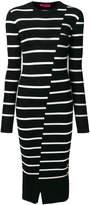McQ Distorted Stripe dress