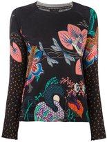 Etro oriental print jumper