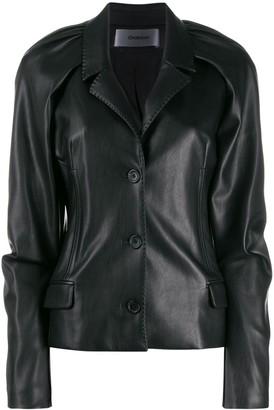 Chalayan narrow lapel jacket