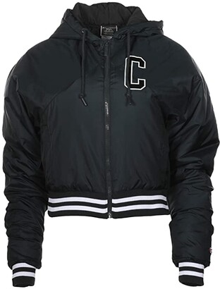 Champion Filled Fashion Jacket (Black) Women's Clothing