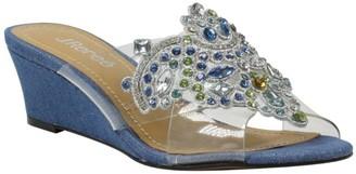 J. Renee J.Renee Slip-On Wedge Sandals - Allysen