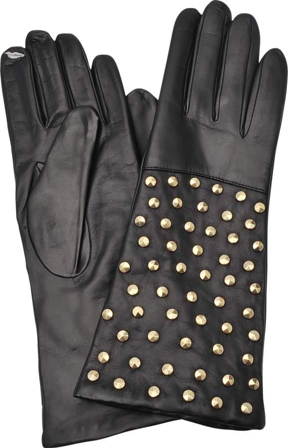 Diane von Furstenberg Round Pyramid gloves