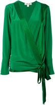 Diane von Furstenberg wrap blouse - women - Silk - XS
