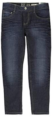 Camilla And Marc Lemmi Hose Jeans Boys Tight fit Big Trousers, Blau (Dark Denim|Blue 0012), 128 cm