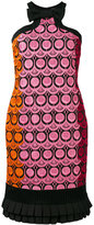Capucci embroidered dress - women - Cotton/Polyester/Viscose/Polyamide - 42