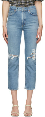 AGOLDE Blue Wilder Comfort Straight Jeans