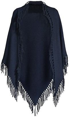 Minnie Rose Cashmere Fringe Wrap