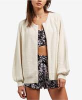 Volcom Juniors' Nopalita Zip-Front Sweater
