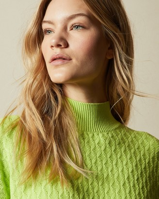 Ted Baker IMOGINN Stitch detail chunky knit jumper