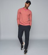 Reiss Allandale - Wool Blend Fluoro Jumper in Pink