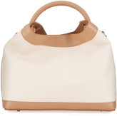 Elleme Raisin Leather Top-Handle Bag