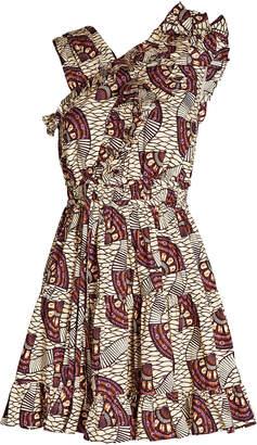 Ulla Johnson Iliana Ruffled Poplin Mini Dress