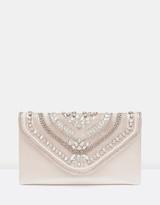 Forever New Nicole Embellished Envelope Clutch