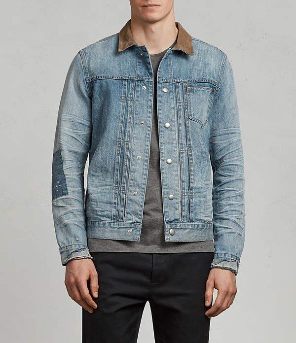AllSaints Ibanez Denim Jacket