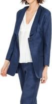Max Studio Tussah Single Button Jacket