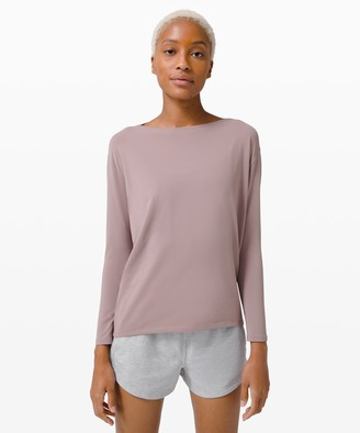 Lululemon Back in Action Long Sleeve *Rulu