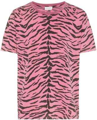 Saint Laurent tiger stripe print T-shirt
