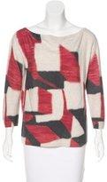 Peter Pilotto Wool Printed Sweater