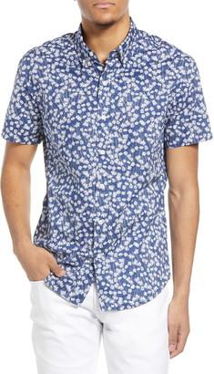 Bonobos Riviera Slim Fit Floral Button-Down Shirt