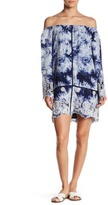 Romeo & Juliet Couture Off-The-Shoulder Shift Dress